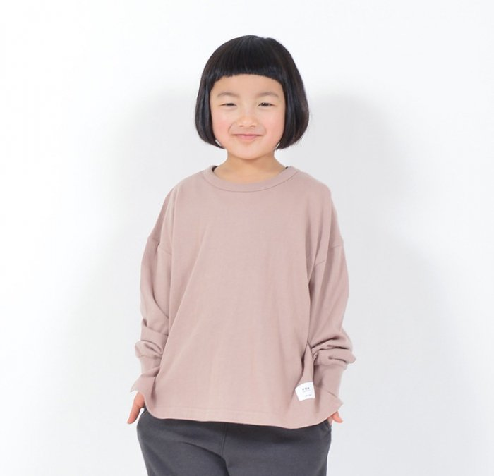 <img class='new_mark_img1' src='https://img.shop-pro.jp/img/new/icons16.gif' style='border:none;display:inline;margin:0px;padding:0px;width:auto;' />【会員ログインで ★30%off★】FV PLAIN 長袖ビッグTシャツ・90-170cm [A7=ge-610406-LT-KD-LD]《オンライン限定》