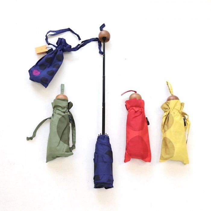 【定番】maru 5段mini折りたたみ傘 [A7=mc-A41002-RG-LD]《店頭取扱品》