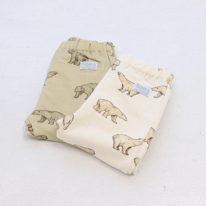 ベビーボトム Polar bears・70-80cm [A7=og-1020902-PT-BA]《店頭取扱品》