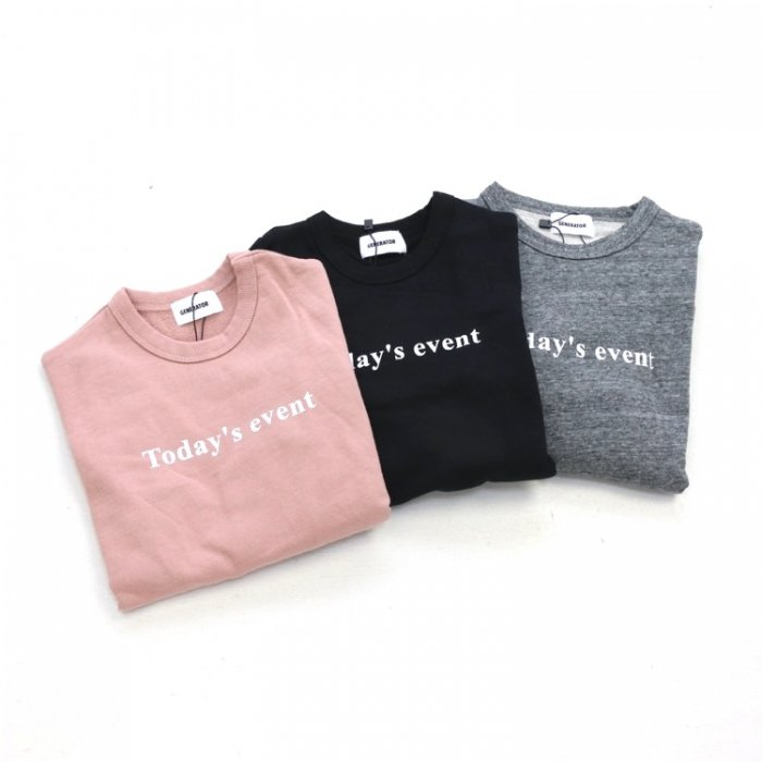 <img class='new_mark_img1' src='https://img.shop-pro.jp/img/new/icons16.gif' style='border:none;display:inline;margin:0px;padding:0px;width:auto;' />【会員ログインで ★30%off★】Today's eventスウェット・90-160cm [A7=ge-910702-LT-KD]《オンライン限定》