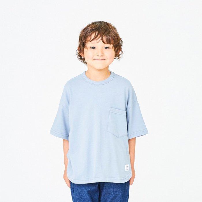 【春夏新作】ポケットTシャツ・90-170cm [S8=ge-621407-ST-KD-LD]《店頭取扱品》