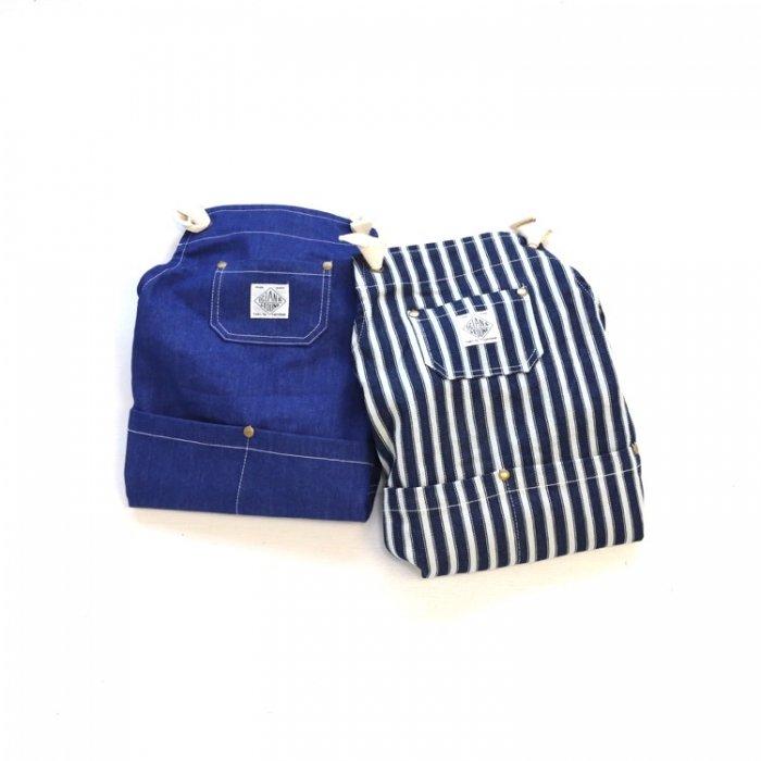 【定番】エプロンセットBLUE BLUE [S8=og-1918005-AC-KD]S《店頭取扱品》