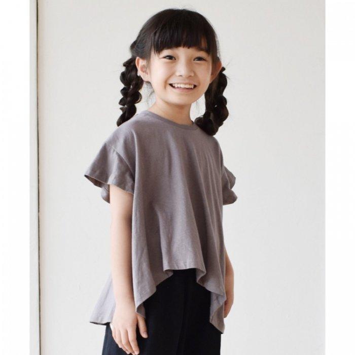 【春夏新作】フレアーゆるTシャツ ・90-140cm [S8=nh-210114-ST-KD]S《店頭取扱品》