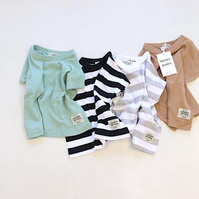 【春夏新作】プレーンビッグ Tシャツ・80-150cm [S8=nw-2121712-ST-KD]S《店頭取扱品》