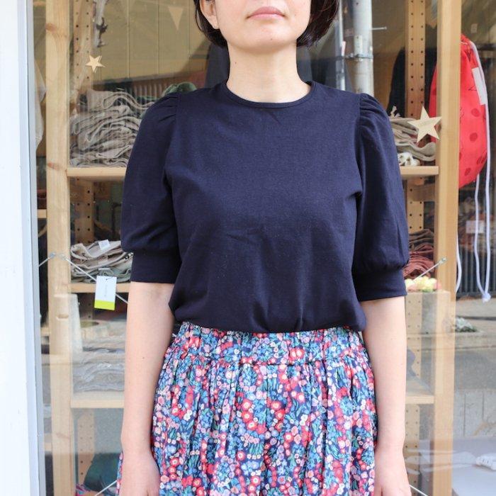 【春夏新作】パフ袖Tシャツ・レディスサイズ [S8=ni-211-1501-ST-LD]《店頭取扱品》