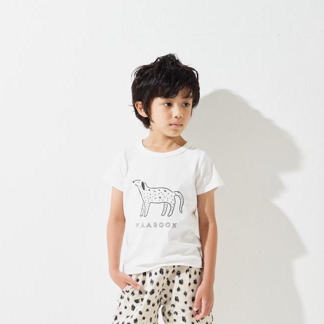 【春夏新作】天竺ダルメシアンTシャツ・80-140cm [S8=mr-115-0202034-ST-KD]《店頭取扱品》