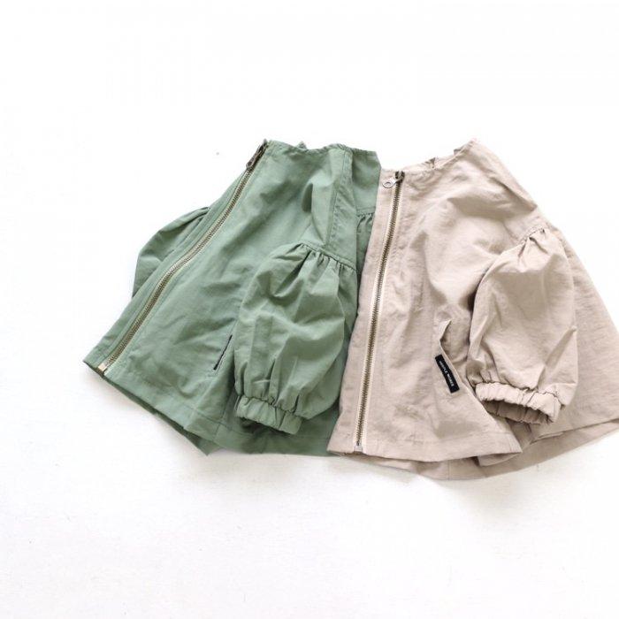 【春夏新作】ギャザージャケット・80-150cm [S8=nw-2121502-JK-OU-KD]《店頭取扱品》