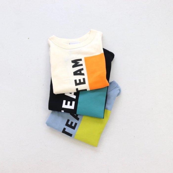 【春夏新作】TEAM Tシャツ・ 90-140cm [S8=ot-1121263-ST-KD]S《店頭取扱品》