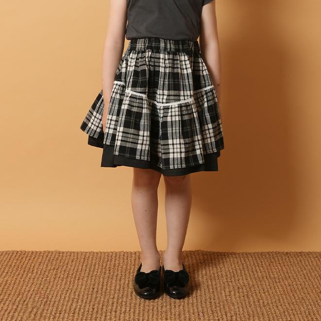 【春夏新作】ベヌススカート・100-110cm [S8=to-111201-SK-KD]《店頭取扱品》