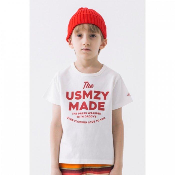 【春夏新作】USMZY MADE Tee・100-150cm[S8=sy-25T-04-ST-KD]《店頭取扱品》