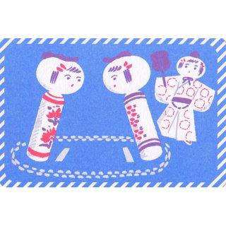 『よしだみさこ』相撲こけしポストカード