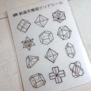 『ルーチカ』結晶形態図クリアシール
