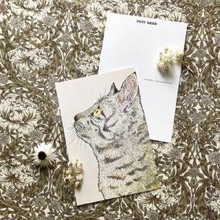 『nemunoki paper item』 「みつめる先に」ポストカード
