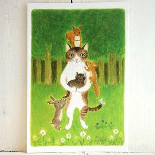 『とりごえまり』ポストカード(1)