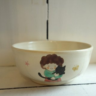 『高辻あい』 ねことおばさんの鉢