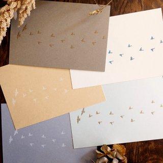 渡り鳥のポストカード(knoten)