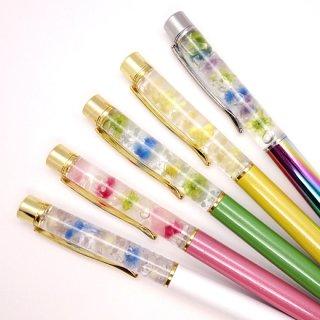 『透明屋パク』 ハーバリウムボールペン