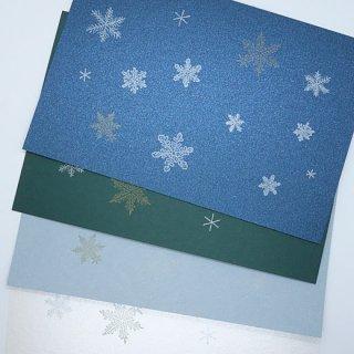 ポストカード 雪の結晶(knoten)