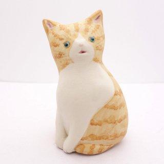 『高辻あい』 猫の置物(小)3