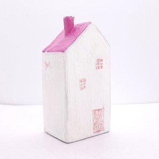 『ツメサキの世界』 白い漆喰の壁の家(大)F