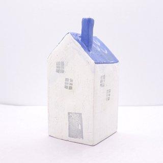 『ツメサキの世界』 白い漆喰の壁の家(大)G