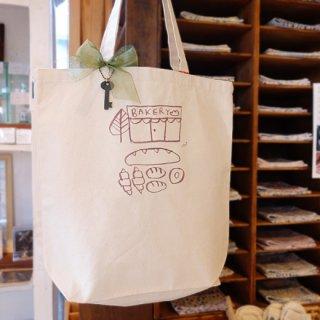 『ツメサキの世界』 パン屋さんのトートバッグ