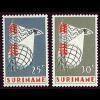 テレビ通信の切手(スリナム1966年)
