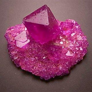 銀河通信社の紫結晶育成キット
