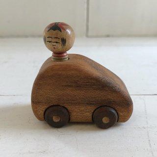 『カガモク』木のおもちゃ(こけしドライブ)