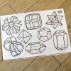 『ルーチカ』 結晶図ウォールステッカー