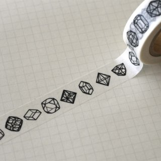 『ルーチカ』 結晶図のマスキングテープ