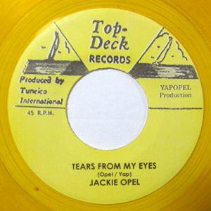 Jackie Opel - Tears From My Eyes / Valley Of Green