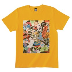 <img class='new_mark_img1' src='//img.shop-pro.jp/img/new/icons13.gif' style='border:none;display:inline;margin:0px;padding:0px;width:auto;' />175R(e) BEST Tシャツ (YELLOW)