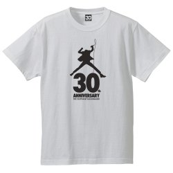 <img class='new_mark_img1' src='//img.shop-pro.jp/img/new/icons13.gif' style='border:none;display:inline;margin:0px;padding:0px;width:auto;' />30th Anniversary Tシャツ(ホワイト)