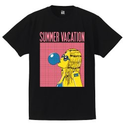 <img class='new_mark_img1' src='//img.shop-pro.jp/img/new/icons13.gif' style='border:none;display:inline;margin:0px;padding:0px;width:auto;' />SUMMER VACATION Tシャツ(BLACK)