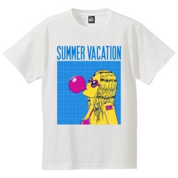 SUMMER VACATION Tシャツ(WHITE)