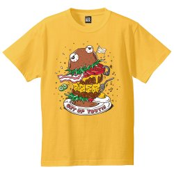 GET UP YOUTH! ツアーTシャツ(YELLOW)