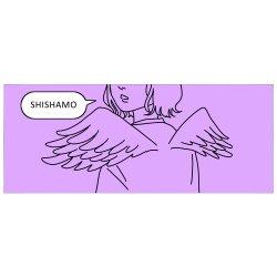 天使みたいなフェイスタオル