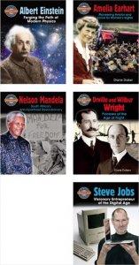 Groundbreaker Biographies(5冊セット)−社会 英語多読