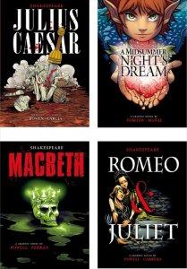 Graphic Shakespeare(4冊セット)−グラフィックノベル 英語多読
