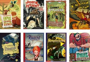 Graphic Fairy Tales(8冊セット)−グラフィックノベル 英語多読