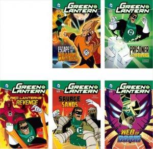 Green Lantern Chapter Books(5冊セット)−グラフィックノベル 英語多読