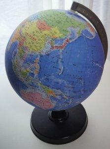 地球儀21-GX<21-GK改訂> 【日本製】昭和カートン-学校仕様の本格派地球儀  球径21cmの行政図