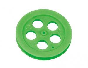 プーリー(φ4.0cm 緑)