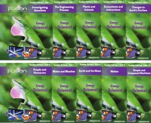 ScienceFusion Teacher Edition Collection Grade 3