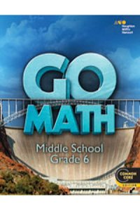 Go Math! Interactive Write-in Student Edition GR06