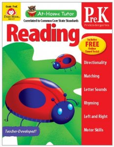 At-Home Tutor Reading Gr.prek-英語導入レベル