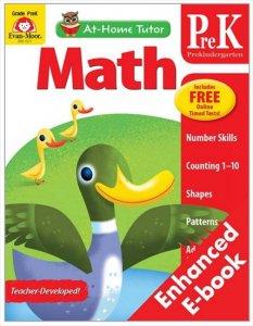 At-Home Tutor Math Gr.prek-英語導入レベル