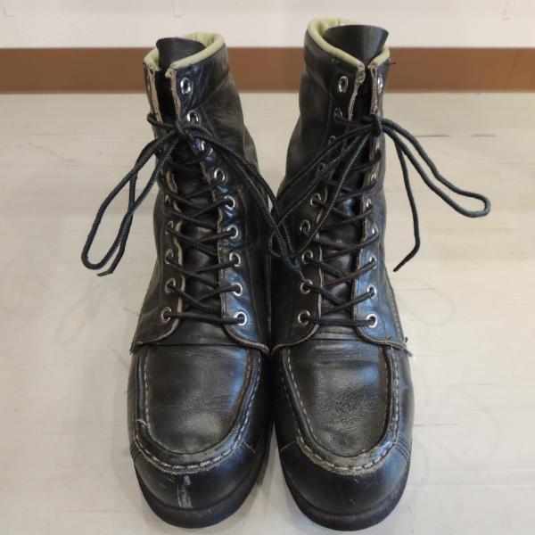 USED ワーク ブーツ 8・1/2C グリーン