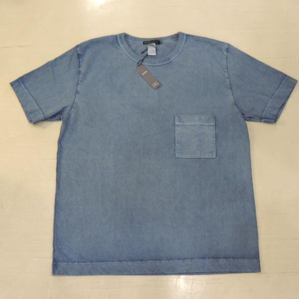 <img class='new_mark_img1' src='//img.shop-pro.jp/img/new/icons50.gif' style='border:none;display:inline;margin:0px;padding:0px;width:auto;' />JIGSAW PIGMENT DYE  BIG T−SHIRTS BLUE